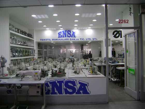 Ensa Tekstil Makinaları San. ve Tic. Ltd. Şti.